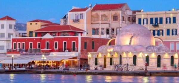 La Canée, ville de Crète occidentale
