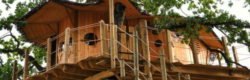 Une maison dans les arbres, nouvelle forme d'hébergement touristique