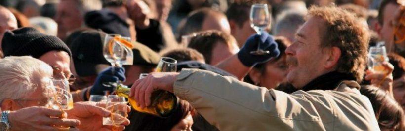 La Percée du Vin Jaune à Arbois dans le Jura