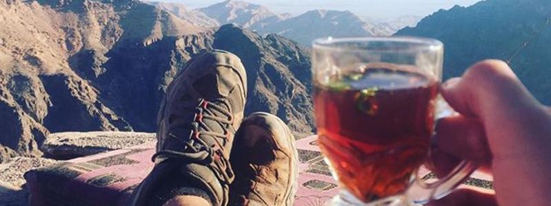 Un thé à la menthe en Jordanie