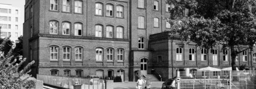 L'hôtel Volksschule à Hambourg