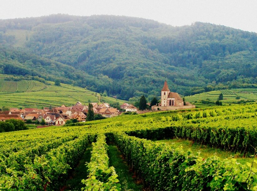 Alsace paysage